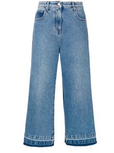 укороченные широкие джинсы  MSGM