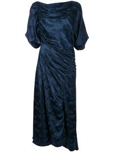 платье Panther с деталями со сборкой Bianca Spender