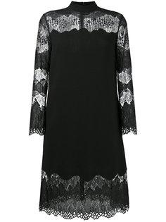 платье с кружевными панелями Huishan Zhang