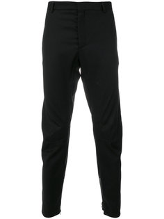 прямые брюки с молниями на манжетах  Lanvin