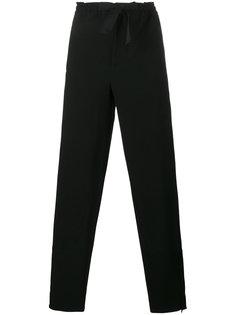 зауженные брюки на завязках Marni