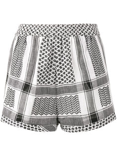 короткие шорты Keffiyeh Cecilie Copenhagen