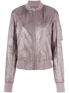 классическая куртка-бомбер Rick Owens