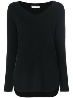 кашемировый свитер-рубашка с V-образным вырезом  Chinti & Parker