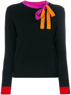 свитер с завязками на шее Chinti & Parker