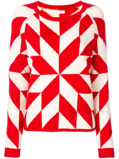свитер с вышивкой Snowflake Chinti & Parker