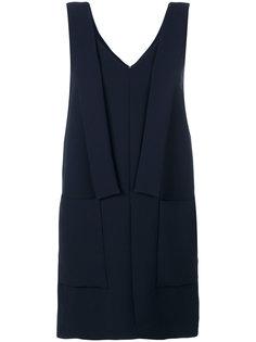 платье без рукавов со вставками  Victoria Victoria Beckham
