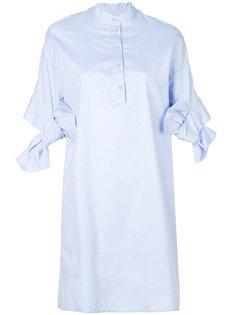 платье-рубашка с бантами на рукавах  Victoria Victoria Beckham