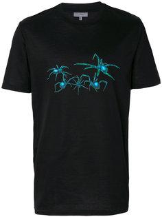 футболка с принтом в виде пауков Lanvin