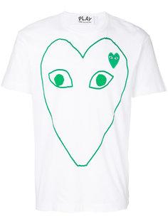 футболка с принтом  Comme Des Garçons Play