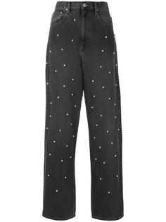 джинсы-бойфренды с круглыми заклепками Isabel Marant Étoile