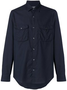 рубашка с накладными карманами Salvatore Ferragamo