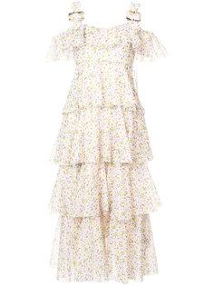многослойное платье миди Alexa Chung