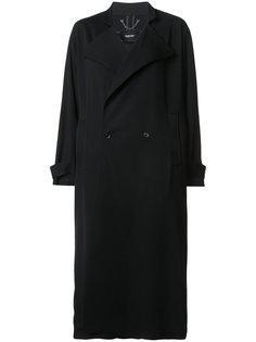 длинное свободное двубортное пальто Rachel Comey