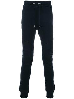 спортивные штаны в байкерском стиле Balmain