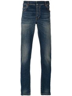 джинсы с эффектом потертости Balmain