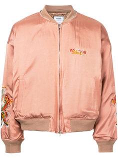 куртка-бомбер с вышивкой Doublet
