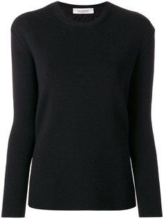 свитер с кружевной спинкой Valentino
