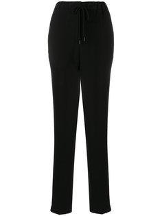 прямые брюки-джоггеры Jil Sander