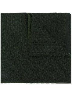 трикотажный шарф Signature Fendi