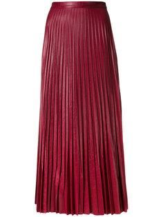 плиссированная юбка длины миди Golden Goose Deluxe Brand