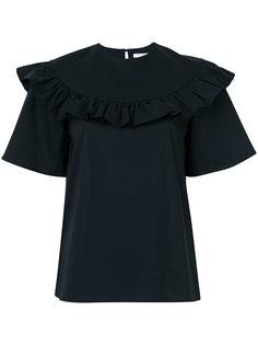 блузка с оборкой Vivetta