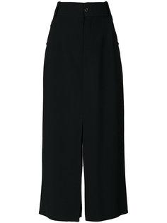 брюки-юбка с высокой талией Chloé
