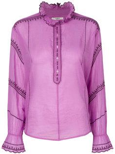 блузка с оборчатым воротником Isabel Marant Étoile