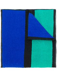 широкий полосатый шарф Giorgio Armani