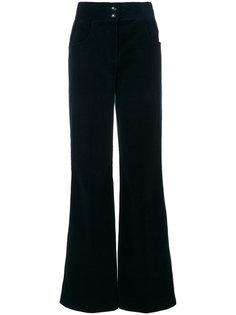вельветовые брюки клеш  Etro