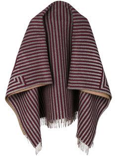 шарф в полоску Fendi