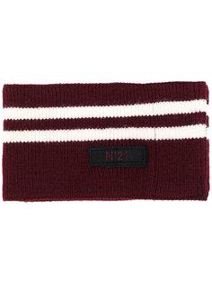 шарф с полосками Nº21