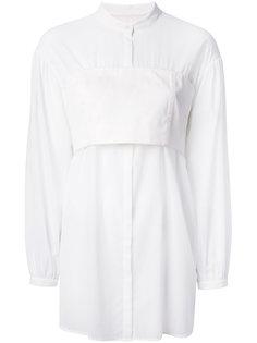 рубашка со вставкой-бандо 3.1 Phillip Lim