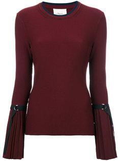 свитер с плиссированными манжетами 3.1 Phillip Lim