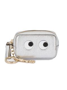 кошелек для монет с декоративными глазами Anya Hindmarch