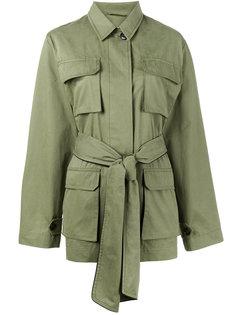 куртка Fabre с поясом Ganni