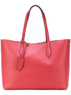 сумка на плечо с клетчатой подкладкой Burberry