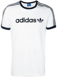 футболка с принтом-логотипом Adidas