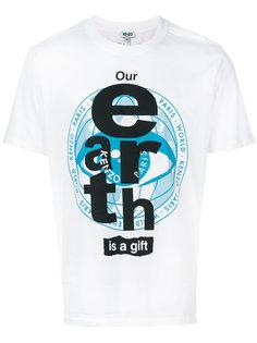 футболка Earth Kenzo