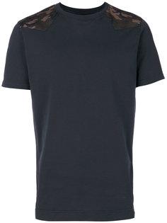 футболка со вставками с камуфляжным рисунком Mr & Mrs Italy