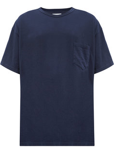 футболка свободного кроя с контрастными панелями Facetasm