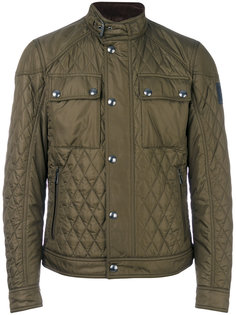 стеганая куртка с воротником-стойкой Belstaff