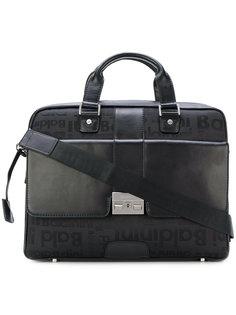 сумка-мессенджер с застежкой на пряжку Baldinini
