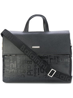 сумка для ноутбука с тиснеными логотипами Baldinini