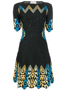платье с орнаментом Peter Pilotto