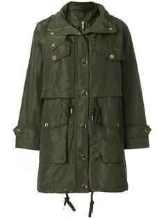 пальто с металлическими пуговицами Michael Michael Kors