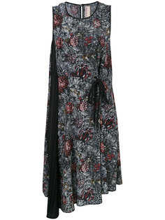 асимметричное платье с запахом Antonio Marras