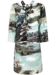 платье-шифт с изображением пейзажа Antonio Marras