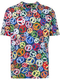 футболка Peace and Love Love Moschino