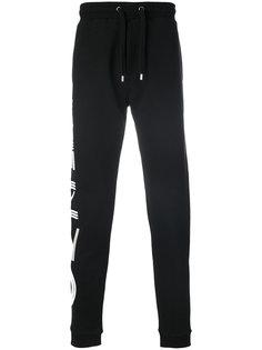 спортивные штаны с принтами-логотипами Kenzo